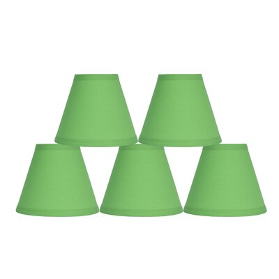 6 Cotton Empire Lamp Shade Color: Bright Green