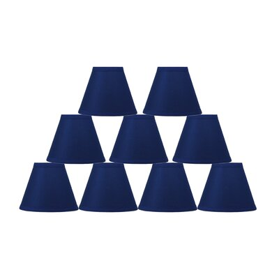 6 Cotton Empire Lamp Shade Color: Indigo