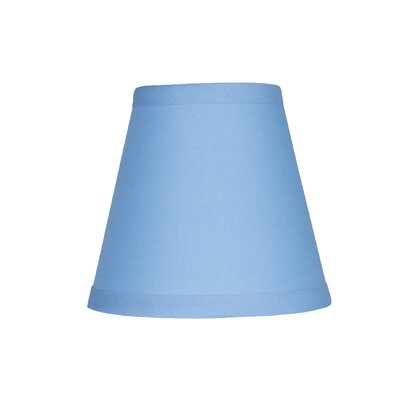 5 Cotton Empire Clip-on Candelabra Shade Color: Baby Blue