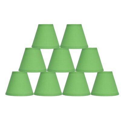 6 Cotton Empire Lamp Shade Color: Bright Green