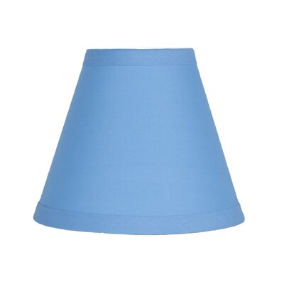 6 Cotton Empire Candelabra Shade Color: Baby Blue