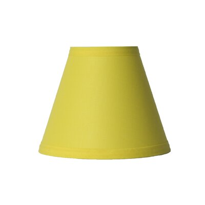 6 Cotton Empire Candelabra Shade Color: Yellow