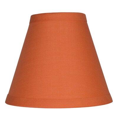 6 Cotton Empire Candelabra Shade Color: Orange