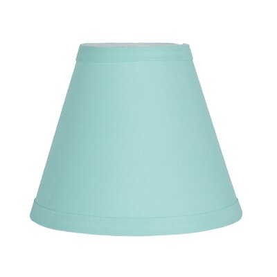6 Cotton Empire Candelabra Shade Color: Turquoise