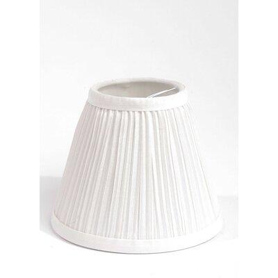 Pleat 6 Silk Hardback Empire Lamp Shade
