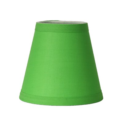 5 Cotton Empire Clip-on Candelabra Shade Color: Bright Green