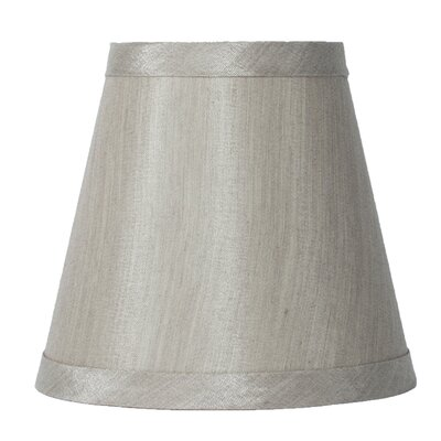 5 Silk Empire Clip-on Candelabra Shade Color: Champagne