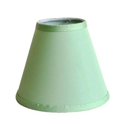 6 Satin Empire Lamp Shade Color: Olive Green