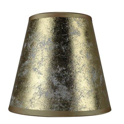 5 Paper Hardback Empire Clip-on Candelabra Shade Finish: Gold
