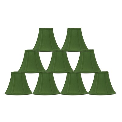 6 Silk Bell Lamp Shade Color: Kelly Green