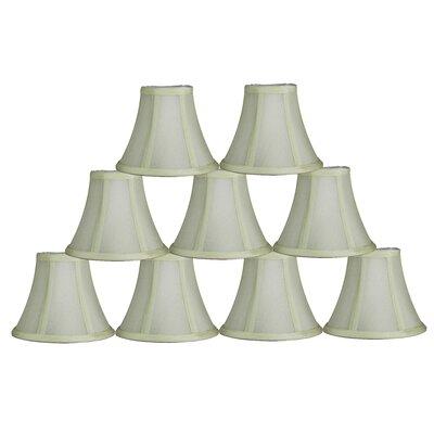 6 Silk Bell Lamp Shade Color: Eggshell