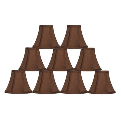 6 Silk Bell Lamp Shade Color: Copper