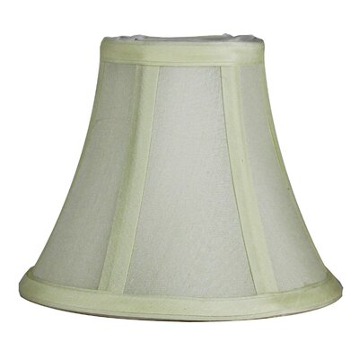 6 Silk Bell Candelabra Shade Color: Eggshell