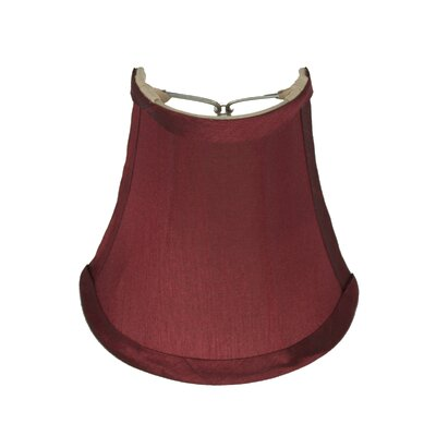 Half 5 Bell Wall Sconce Shade Color: Burgundy