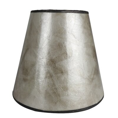 5 Mica Bell Candelabra Shade Finish: Silver