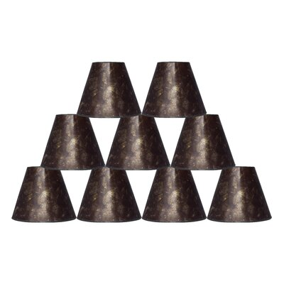 6 Mica Bell Lamp Shade Finish: Amber
