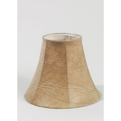 6 Faux Leather Bell Lamp Shade