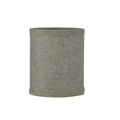 4 Linen Drum Candelabra Shade Color: Cottage