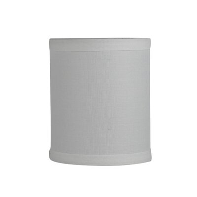 4 Linen Drum Candelabra Shade Color: Off-White