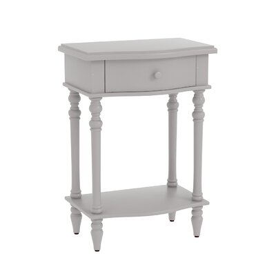 Claiborne Accent End Table Finish: Gray