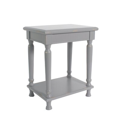 Ashford Accent End Table Finish: Gray