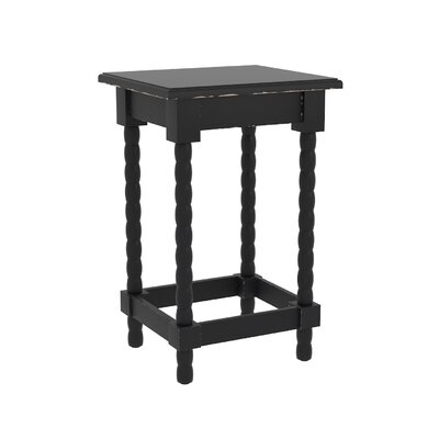 Barnard Accent End Table Finish: Black