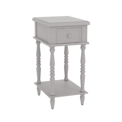 Christopherso Accent End Table Color: Gray