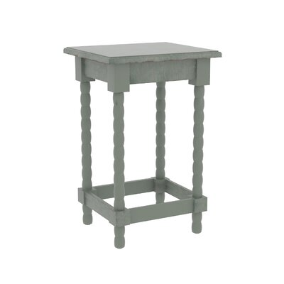 Barnard Accent End Table Finish: Dark Green