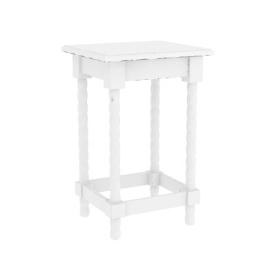 Barnard Accent End Table Color: Off White