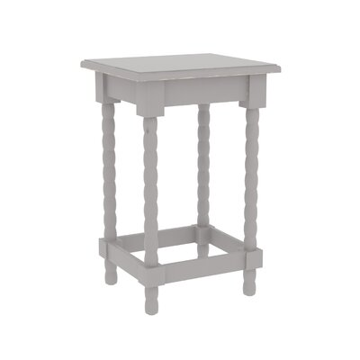 Barnard Accent End Table Finish: Gray