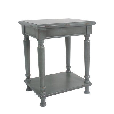 Ashford Accent End Table Finish: Dark Green