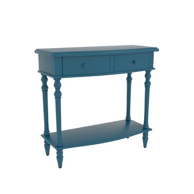 Claflin Accent End Table Color: Blue