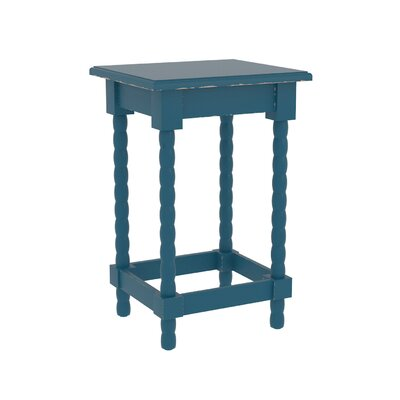 Barnard Accent End Table Finish: Blue