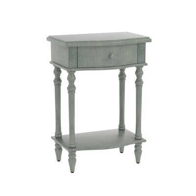 Claiborne Accent End Table Finish: Dark Green