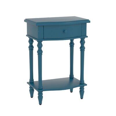 Claiborne Accent End Table Finish: Blue