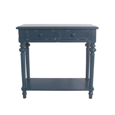 Cedarvale Accent End Table Color: Blue