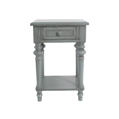 Cedarville Accent End Table Color: Dark Green