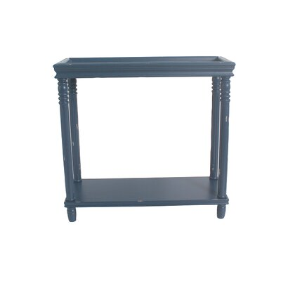 Cedarton Accent End Table Color: Blue