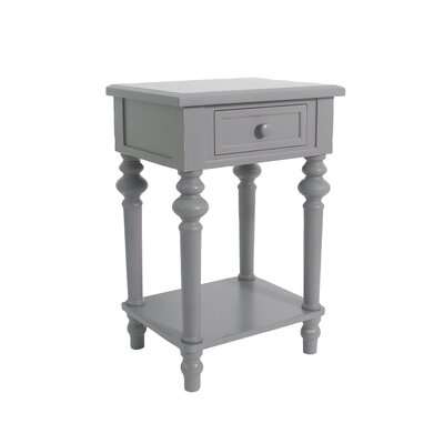 Cedarville Accent End Table Color: Gray