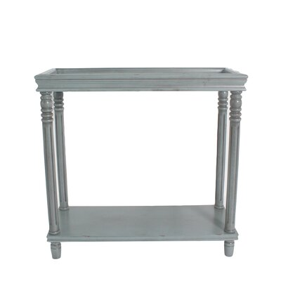 Cedarton Accent End Table Color: Dark Green