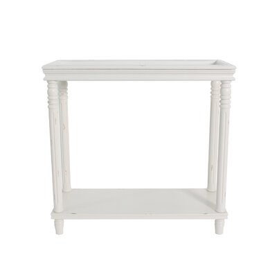 Cedarton Accent End Table Color: Off White