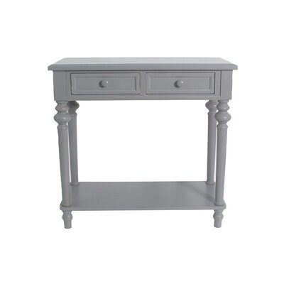Cedarvale Accent End Table Color: Gray