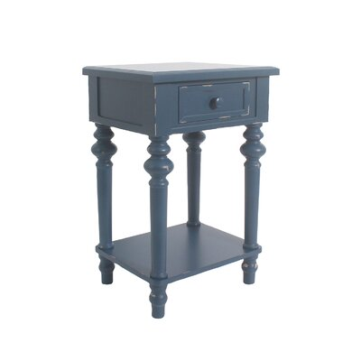 Cedarville Accent End Table Color: Blue