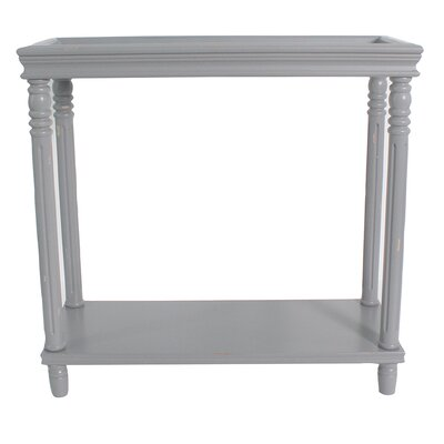 Cedarton Accent End Table Color: Gray