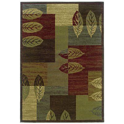 Midland Brown/Beige Area Rug Rug Size: Rectangle 82 x 10