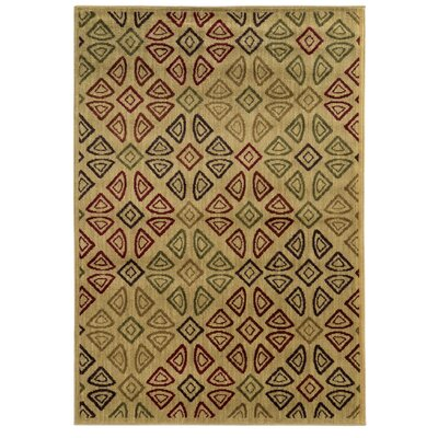 Columbia Beige/Area Area Rug Rug Size: Rectangle 3'3