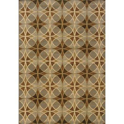 Harper Blue/Beige Area Rug Rug Size: Rectangle 110 x 210