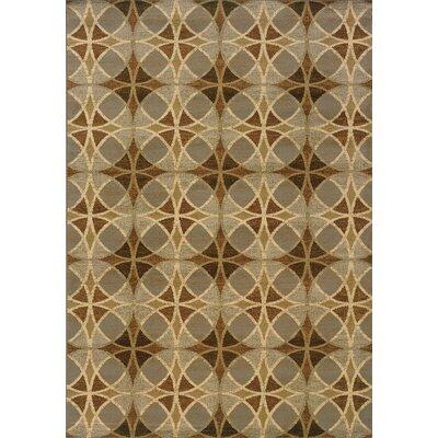 Harper Blue/Beige Area Rug Rug Size: Rectangle 33 x 5