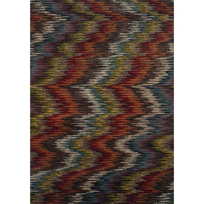 Bienville Contemporary Black Area Rug Rug Size: Rectangle 5 x 76