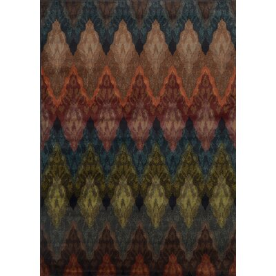 Bienville Transitional Black Area Rug Rug Size: 10 x 13